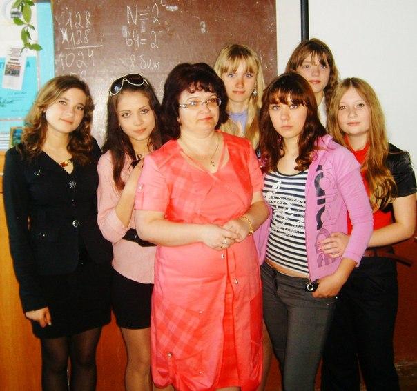 Девчонки 9 В, после экзаменов